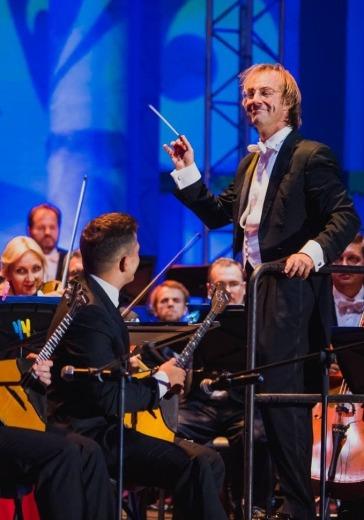 Симфонический оркестр Москвы «Русская филармония» logo