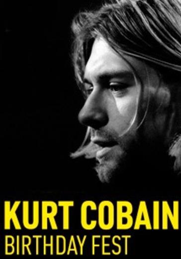 Kurt Cobain Birthday Fest 2021 logo