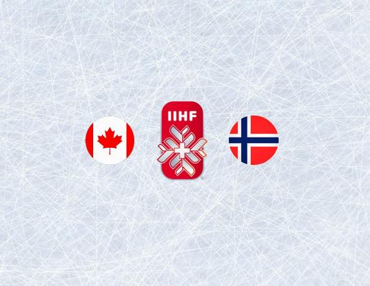 Чемпионат мира по хоккею 2021: Канада - Норвегия