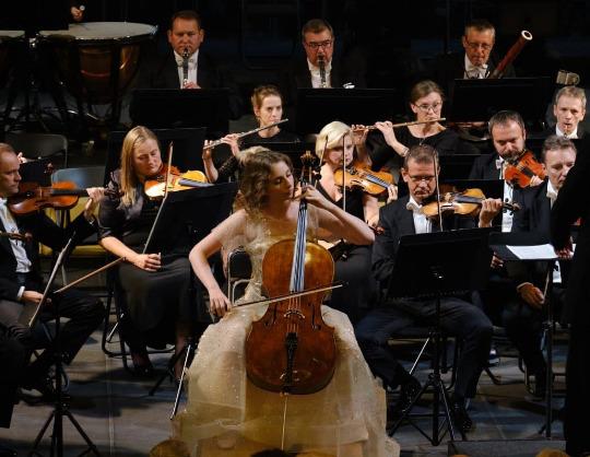 Симфонический оркестр Новой Оперы. Дирижер — Даниэль Орен (Израиль)