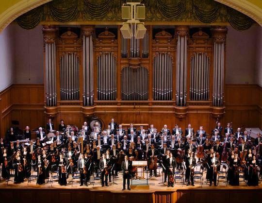 Государственный симфонический оркестр Республики Татарстан, Александр Сладковский, Дмитрий Шишкин