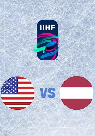 Чемпионат мира по хоккею. США - Латвия logo