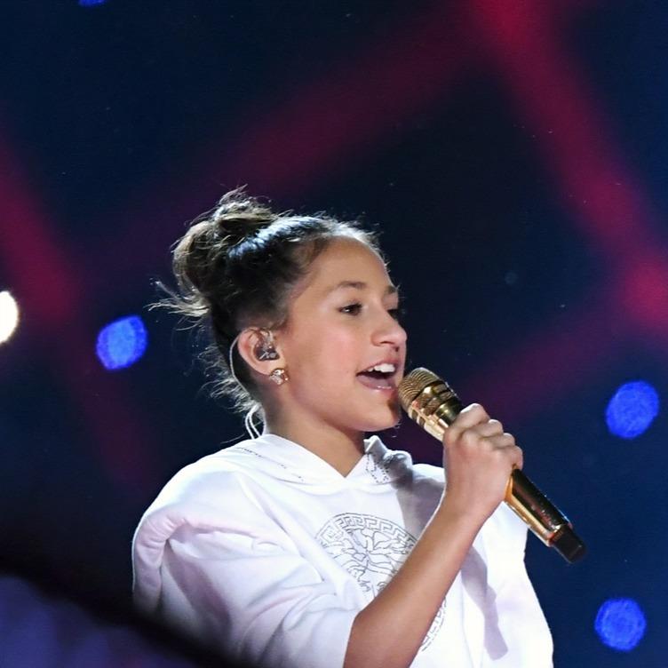 Дженнифер Лопес готовит свою дочь в певицы