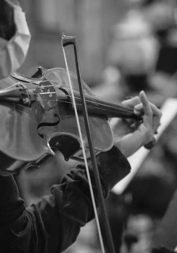 Симфонический оркестр студентов МГК. Дирижёр - Анатолий Левин. Ангелина Гвоздарёва (скрипка)   logo