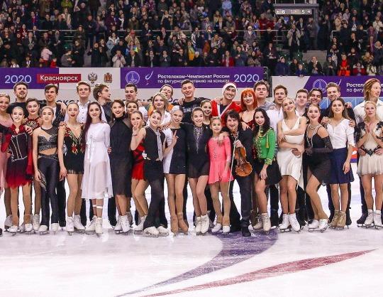 Сборная России по фигурному катанию на коньках