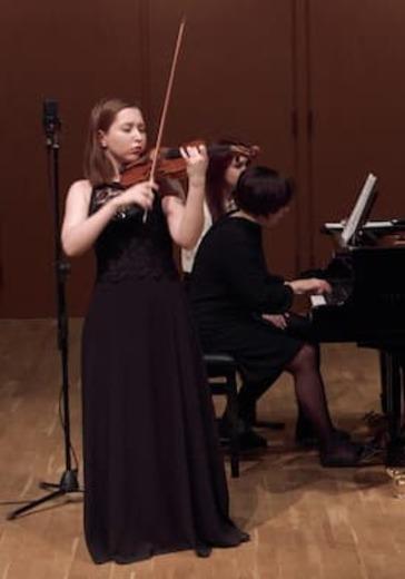 Творческая молодёжь Московской консерватории. Наина Кобзарева, Агаша Григорьева logo