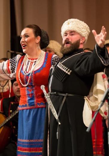 Концерт Кубанского казачьего хора logo