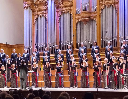 """«Сожженная глава """"Евгения Онегина""""», хоровая симфония-действо"""