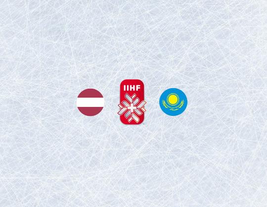 Чемпионат мира по хоккею 2021:Латвия - Казахстан