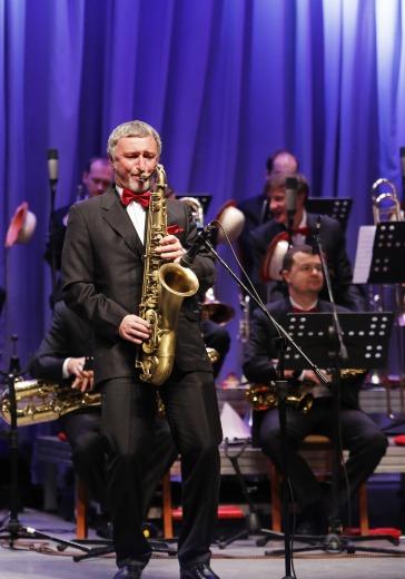 Государственный камерный оркестр джазовой музыки им. Олега Лундстрема logo