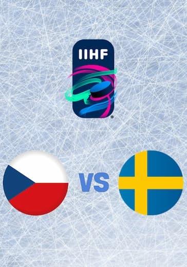 Чемпионат мира по хоккею. Чехия - Швеция logo