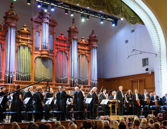 Государственный академический Большой симфонический оркестр имени П. И. Чайковского. Денис Лотоев