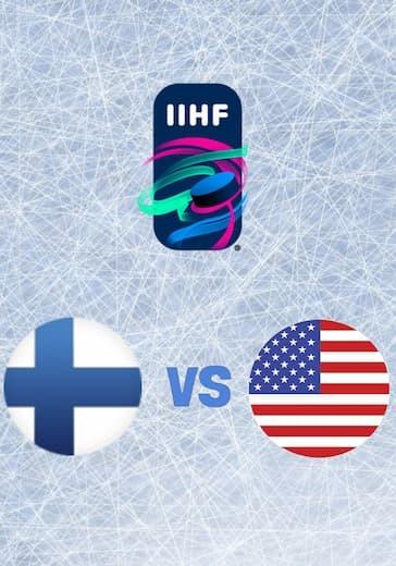 Чемпионат мира по хоккею. Финляндия - США logo