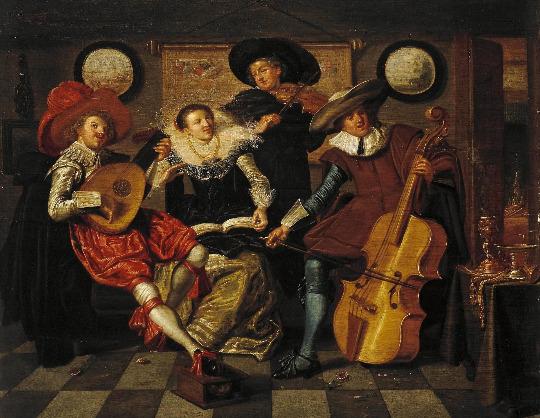 История музыкальных стилей: Странствующие музыканты