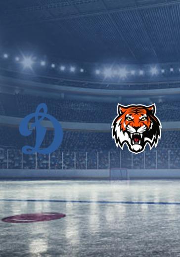 ХК Динамо М - ХК Амур logo
