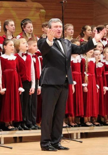 Большой детский хор им. Попова logo