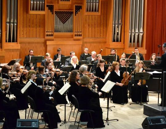 Концерт № 1 для фортепиано с оркестром. Валентин Урюпин, Андрей Гугнин