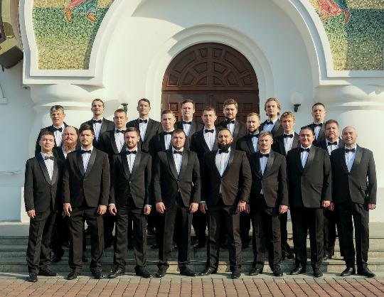 Хор Данилова монастыря Сибирский мужской хор Оркестр MUSICA VIVA
