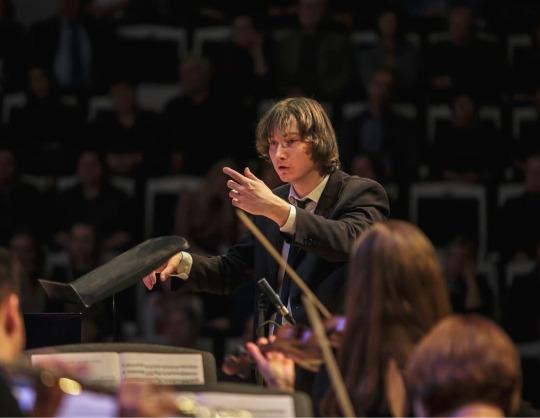 Каролин Видман, Российский национальный молодёжный симфонический оркестр, Максим Емельянычев