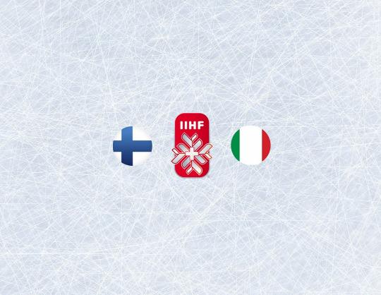Чемпионат мира по хоккею 2021: Финляндия - Италия