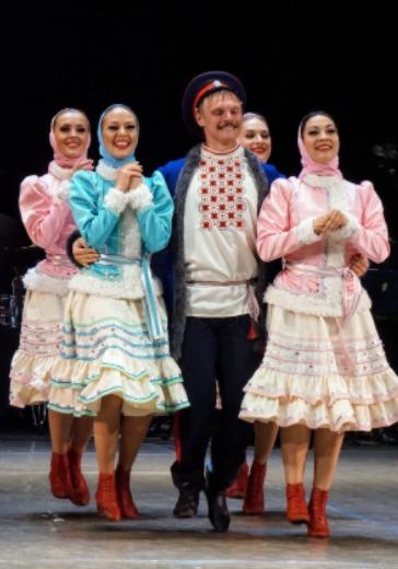 Кубанский казачий хор logo