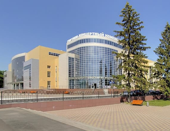 Спортивно-концертный комплекс г.Курск