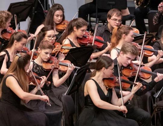 Молодежный камерный оркестр Заслуженного коллектива России академического симфонического оркестра филармонии. «I love оркестр!»
