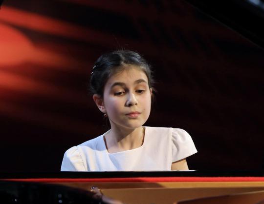 Александра Довгань, фортепиано