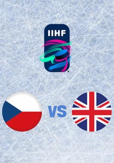 Чемпионат мира по хоккею. Чехия - Великобритания logo