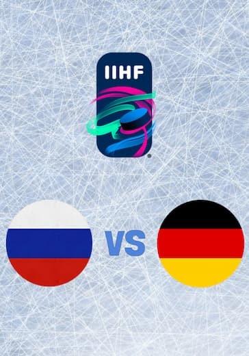 Чемпионат мира по хоккею. Россия - Германия logo