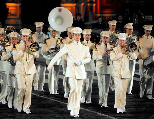 Президентский оркестр Службы коменданта Московского Кремля