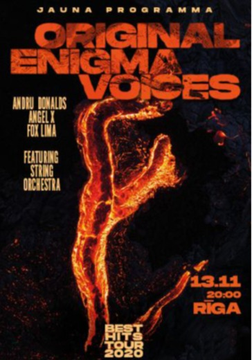 Original Enigma Voices  logo