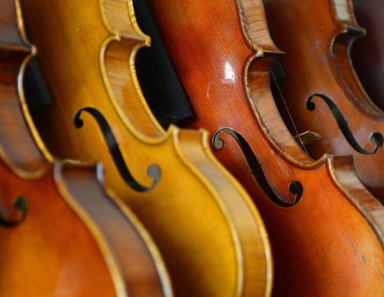 Вечер музыки для арфы и скрипки