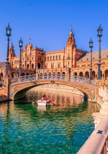 Путешествие в Испанию - Яркая фиеста для детей и родителей logo