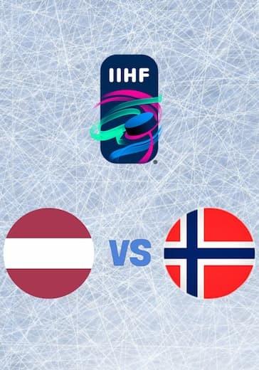 Чемпионат мира по хоккею. Латвия - Норвегия logo
