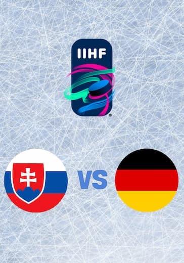 Чемпионат мира по хоккею. Словакия - Германия logo