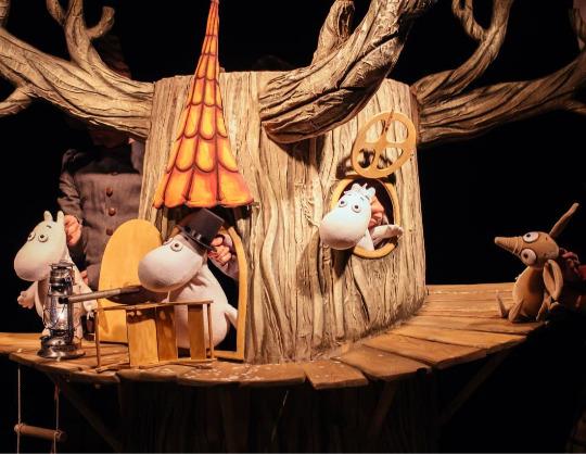 Муми-Тролль и шляпа волшебника