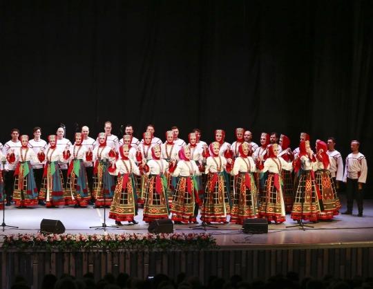 Государственный академический русский народный хор имени М. Е. Пятницкого. Праздничный концерт к 110-летию хора