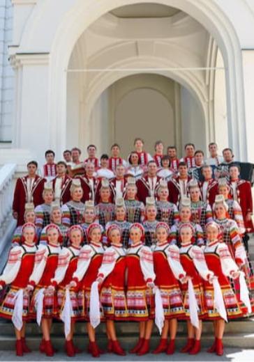 Воронежский русский народный хор logo