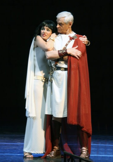 Цезарь и Клеопатра logo