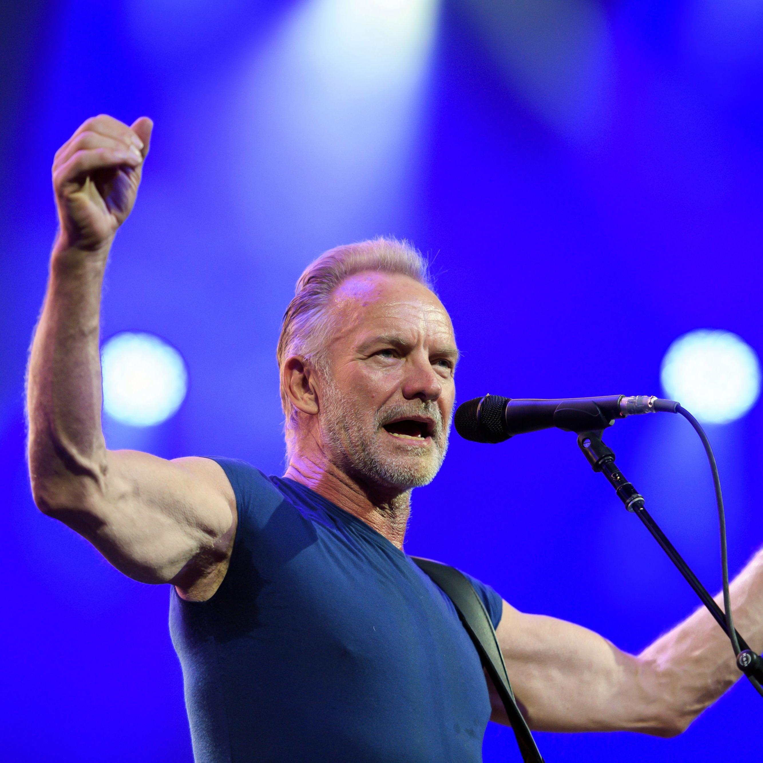 Концерт Sting в Москве