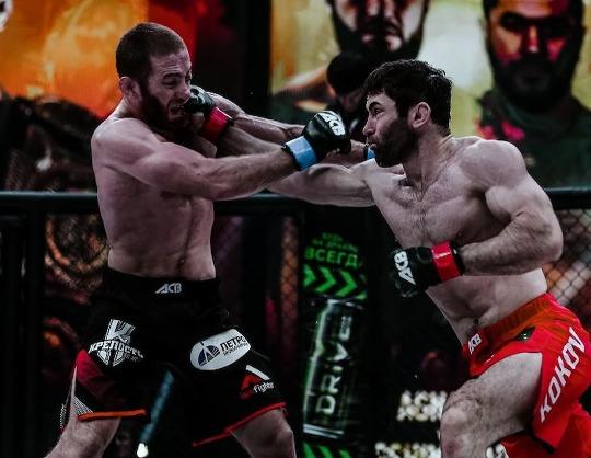 ACA 127. Магомедрасул Хасбулаев VS Рамазан Кишев