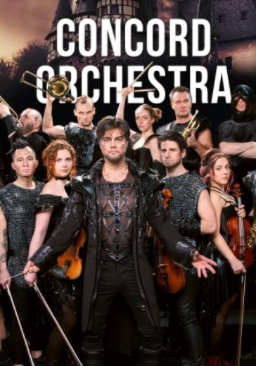 Симфонические рок-хиты. Властелин тьмы. Concord Orchestra (Ессентуки) logo