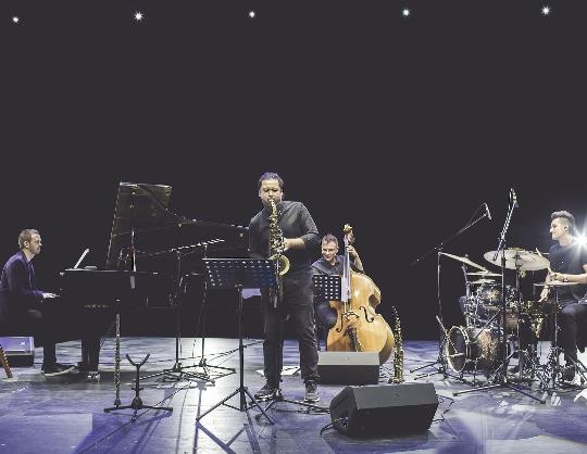 Вечер джаза. Квартет Евгения Пономарёва