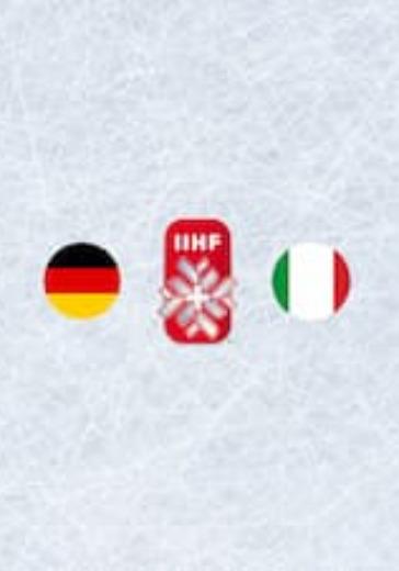 Чемпионат мира по хоккею 2021: Германия - Италия logo