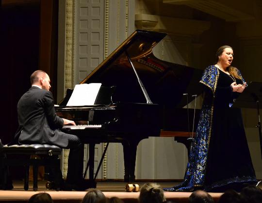 Яна Иванилова, сопрано. Андрей Коробейников, фортепиано