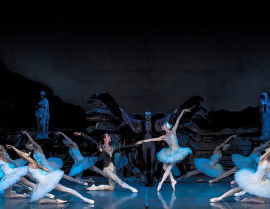 Лебединое озеро. Государственный академический театр классического балета Н. Касаткиной и В. Василёва