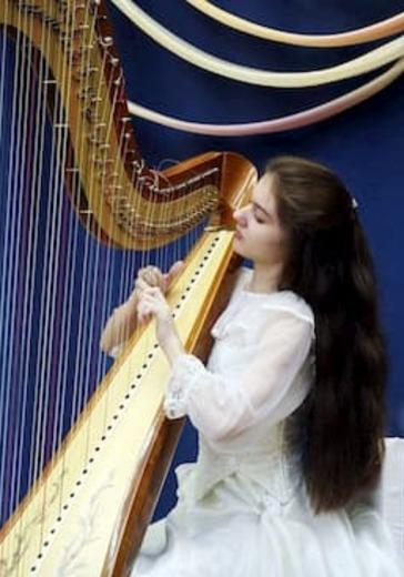 Вечер музыки для арфы, скрипки и флейты logo