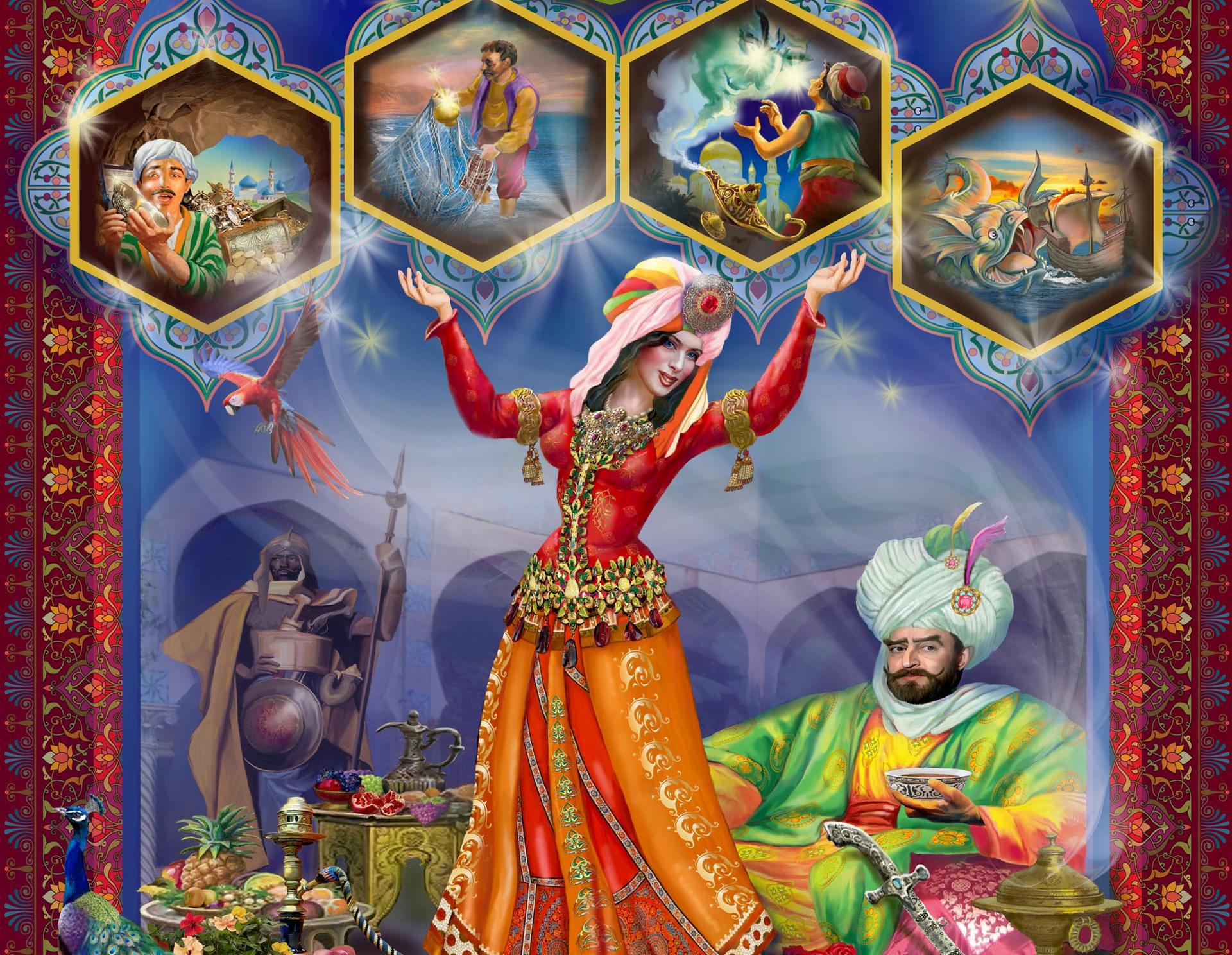 1001 ночь - Сказка Востока