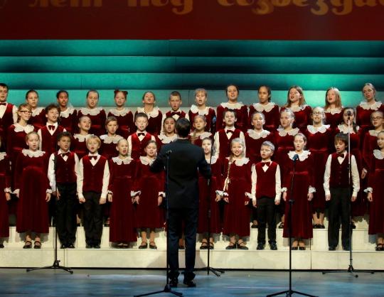 50-летие Большого детского хора имени Попова. Юбилейный концерт